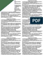 Exercícios de Física Dilatacao 2013
