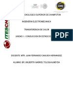U1 Conduccion en Estado Estable Docx
