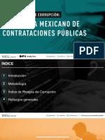 Riesgos Corrupción Contrataciones Públicas IMCO