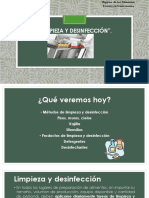 Limpieza y Desinfeccion Detergentes Parte 2