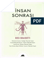 Rosi Braidotti - İnsan Sonrası