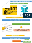 How to Prepare Union Budget 2018-19