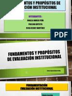 Propósitos y Alcances de La Evaluación Institucional (1)