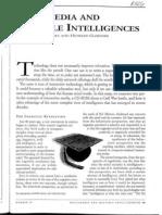 Multimedia and Multiple Intelligences