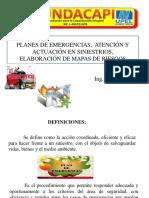 Presentación Planes de Emergencia
