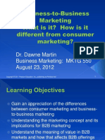 Overveiw of B2B Marketing