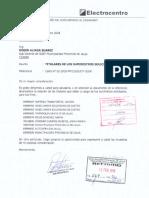 Informe Municipio de Jauja
