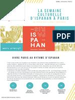 Dossier de Presse de La Semaine Culturelle DIspahan à Paris Min