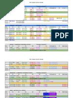 rrc tentative fall 2018 schedule - sheet1