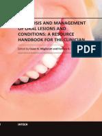 oral lesion book