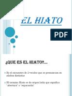 EL HIATO