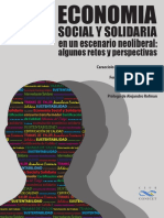 Economía Social y Solidaria en Un Escenario Neoliberal - CEURCONICETv9marzo