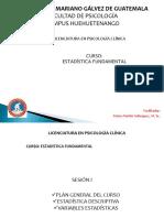 Clase I Estadística Fundamental 04.02.2017