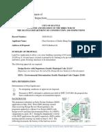 SDCI-Madison PCC Approval