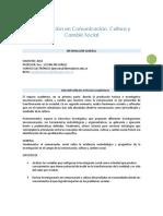 Syllabus Investigación Para El Cambio Social 2018 - i.docx