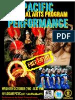 ECC & Heilani Pacific Cultural Arts 2010 Mabel Performance Flyer