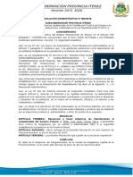 Reolucion Adm 6-11 Reconocimiento Policias 26-06-2018 Ok