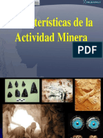 Caracteristicas de La Actividad Minera