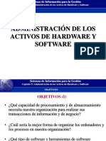 Configuracion de hardware y software