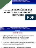 Configuracion de hardware y software