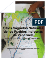 Sitios sagrados naturales de los Pueblos Indigenas de Venezuela