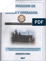 Certificacion de Riger y Operador