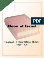 Moon of Israel by H. Rider Haggard