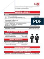Matricula 2018 II