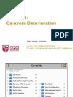 ECV 5107 - Concrete Deterioration