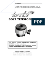 Bolt Tensioners Manual