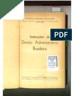 Instituições de Direito Administrativo Brasileiro de Themistocles Brandão Cavalcanti