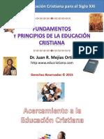 Fundamentos Educación Cristiana