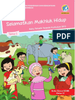 Buku Siswa Kelas 6 Tema 1 Revisi 2018