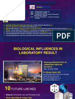 Biological Influences in Laboratory Result (Miswar WS 26042018)