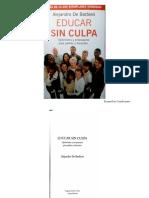 Educar Sin Culpa- Alejandro de Barbieri