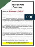 18. DIDATICA - Material de Estudo e simulado.pdf