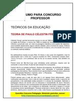 32. RESUMO PARA CONCURSO PROFESSOR - CÉLESTIN FREINET.pdf