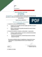 Plan de Dirección de Proyectos - Luis Huamani Sucapuca