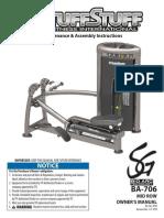 TuffStuff Bio-Arc Mid Row (BA-706) Owner's Manual