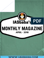 IASbaba April 2018 Current Affairs Magzine