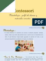 Diapositiva Montessori