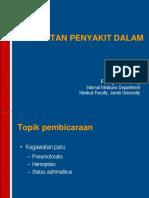 kegawatan IPD Paru
