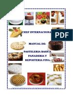Pasteleria Basica i y II - Panaderia Basica Jesus