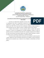 Ficha de Avaliação PNLD