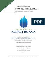kelompok1 -Makalah Studi Kasus Perusahaan Dell Internasional
