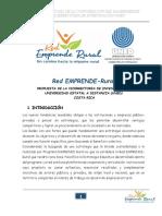 Red Emprende Rural - Propuesta Final