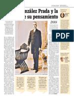 Manuel González Prada y La Vigencia de Su Pensamiento