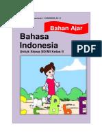 176186931 Bahan Ajar Bahasa Indonesia Kelas II
