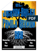 jackson~dailey reunion 2018 souvenir book