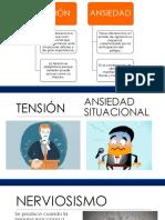 Tensión y Nerviosismo